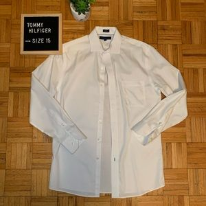 $10 ADD ON ITEM Tommy Hilfiger White Dress Shirt